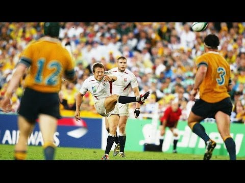 RWC 2003 final highlights: Wilkinson drops for World Cup glo