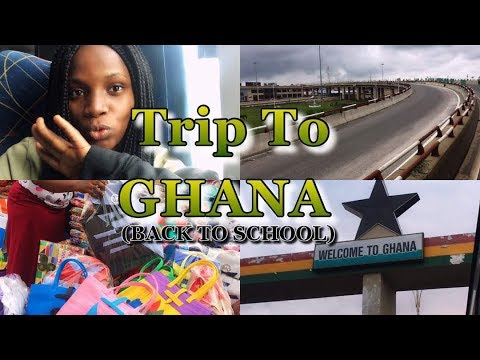 Back to school vlog (Part 2) || Trip to Accra,  Ghana.