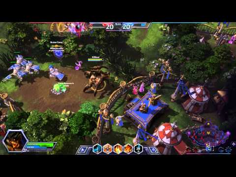 Heroes Of The Storm Azmodan Mercenary Lord Game Play