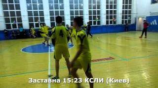 Гандбол. КСЛИ (Киев) - Заставна - 30:21 (2 тайм). Турнир в г. Заставна, 2002 г. р.