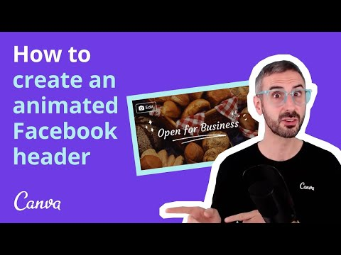 How to Create VIDEO Facebook COVERS with Canva