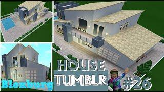 BEM-VINDO AO BLOXBURG-TUMBLR MODERN HOUSE-SPEEDBUILD ROBLOX #26