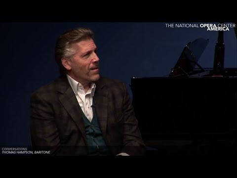 Conversations: Thomas Hampson, Baritone