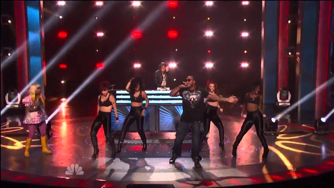 Download David Guetta + Nicki Minaj + Flo Rida - Where Dem Girls At - Live