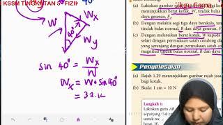 FIZIK KSSM TINGKATAN 5_1.3 KESEIMBANGAN DAYA_CONTOH 2 (b)(c)