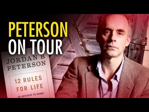 "Jordan Peterson goes on world tour promoting ""12 Rules for Life"" 