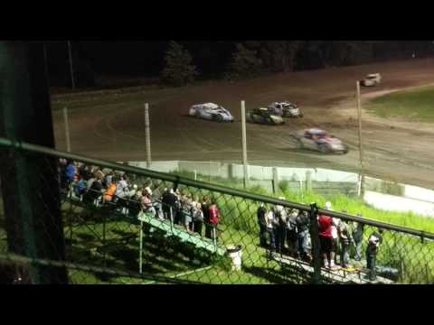 Lincoln County Raceway Championship Feature Race IMCA Modified