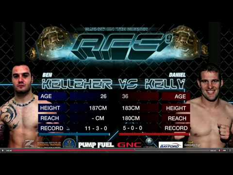Australia's #1 Middleweight Daniel Kelly vs Ben Kelleher