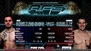 Australia's #1 Middleweight Daniel Kelly vs Ben Kelleher