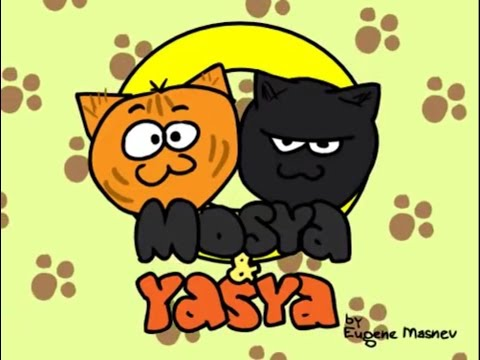 Mosya &  Yasya the two cats (toon boom animation)