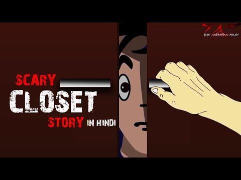 Inside the Closet (डरावनी अल्मारी)  Scary Story (Animated in Hindi)  TAF 