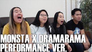 Monsta X (몬스타엑스) - Dramarama Performance MV (Reaction Video)