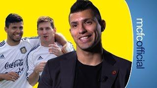 How Aguero met Messi | AGUERO STORIES