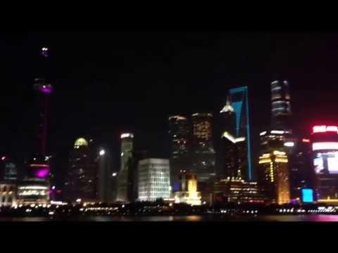 nightly Shanghai 360 Grad
