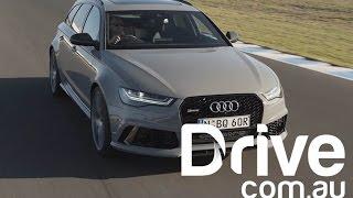 Audi RS6 Avant Performance 2016 Videos