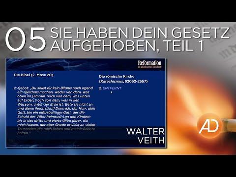 Sie haben Dein Gesetz aufgehoben, Teil 1 (Prof. Dr. Walter Veith)