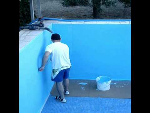 Piscina youtube for Como gunitar una piscina