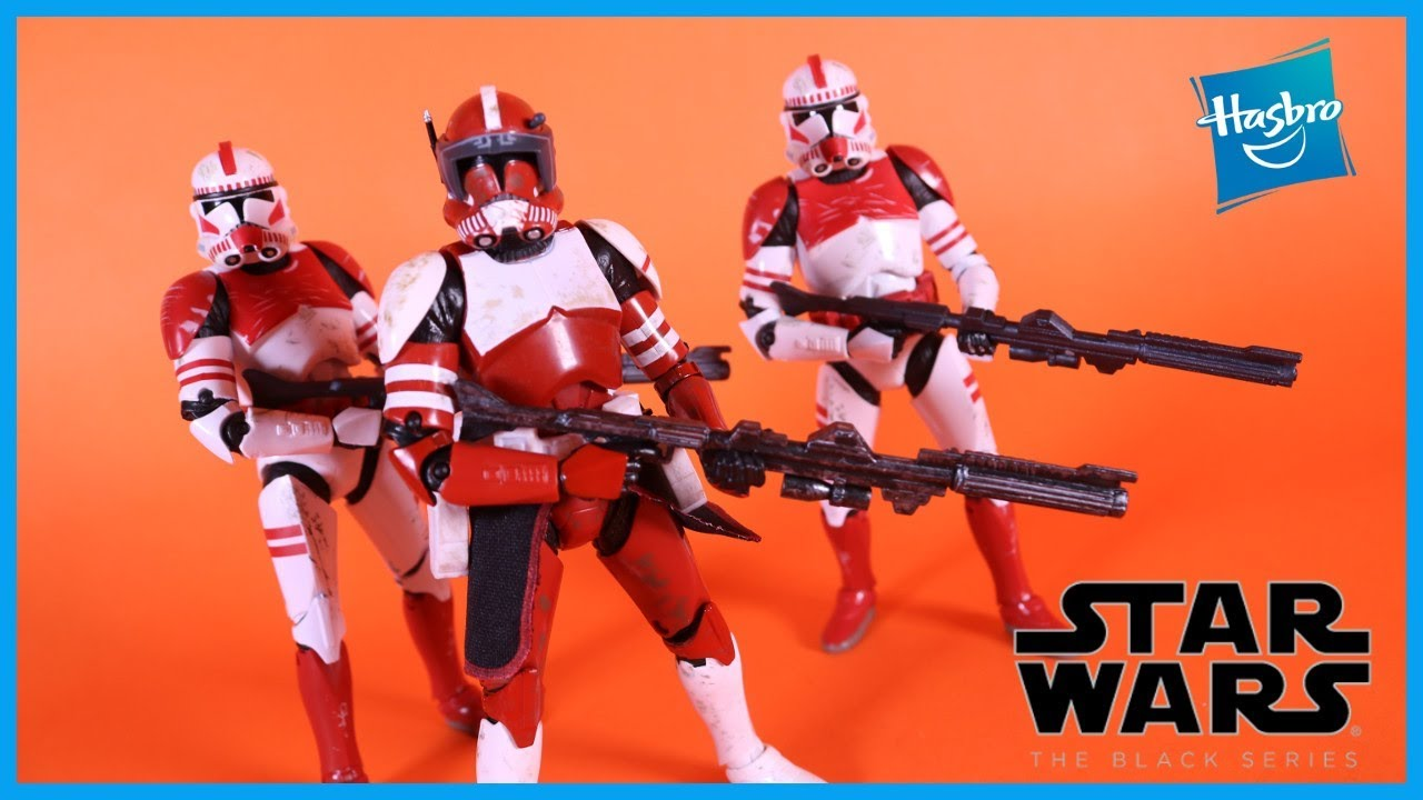 "Star Wars Black Series CLONE COMMANDER FOX 6/"" Action Figure Gamestop Exclusive"