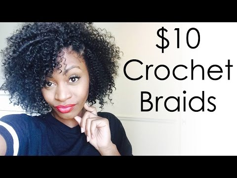 Download video: $10 Crochet Braids - Model Model Water Wave Hair