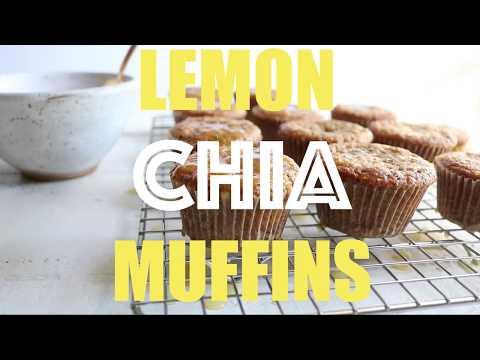 Flourless Lemon Chia Cake Cookies