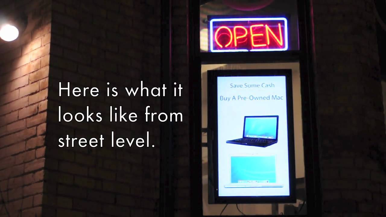 How To: Build a Cheap Alternative to Digital Signage