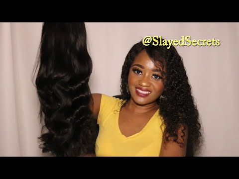 360 Lace Frontal Brazilian Body Wave Wig (20 Inches) ft. Arabella Hair | Slayed Secrets thumbnail