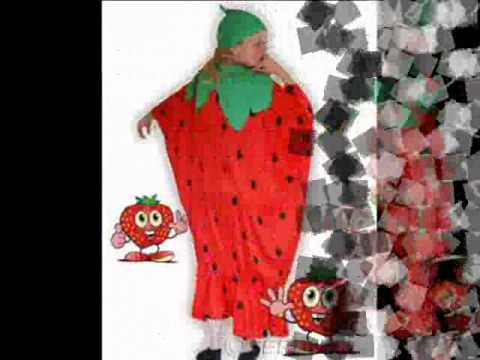 Erdbeere Kostum Fasching Karneval Erdbeerkostum To77 Youtube