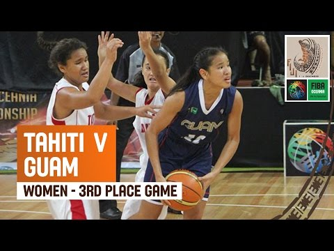 Tahiti v Guam (Women) - 3rd Place Final Full Game - 2014 FIBA Oceania U19 Championship