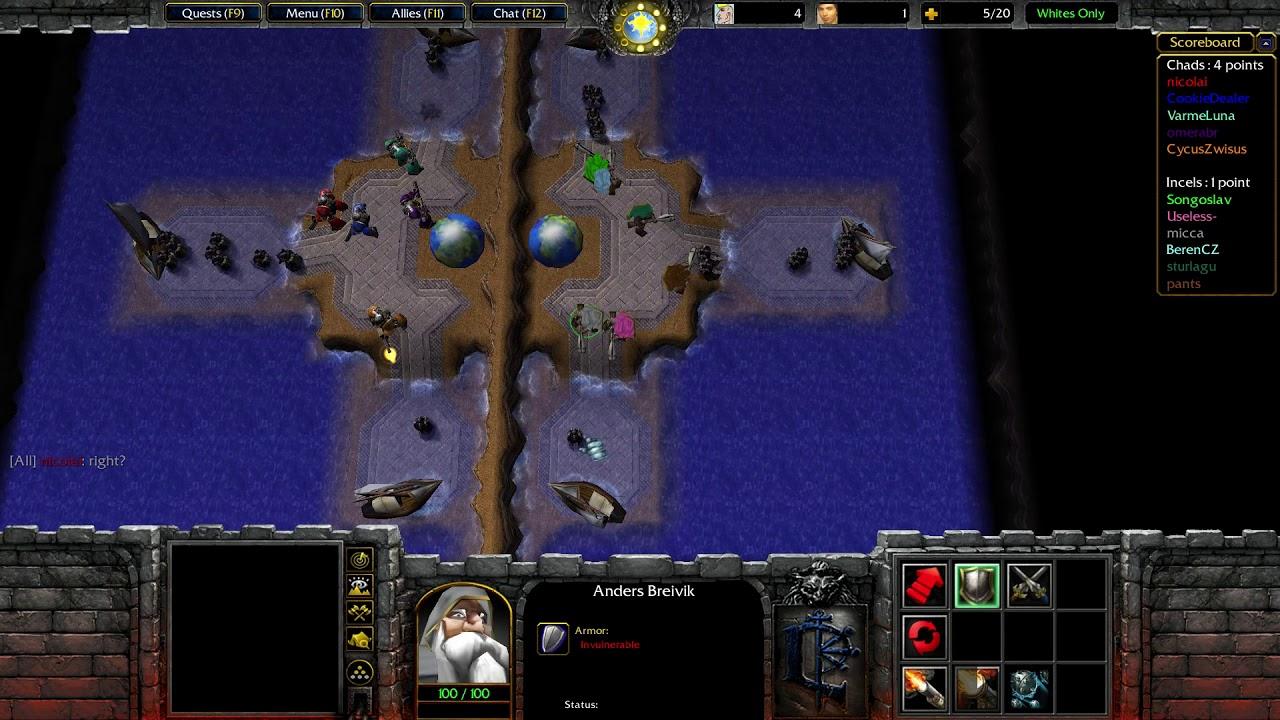 Warcraft 3: TFT [Custom] #794 Caterparty 7.0 Reborn - Změnil jsem tým