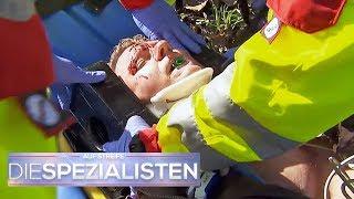 Aluhut-Mann baut Airbag aus: Jetzt kämpft er um sein Leben | Die Spezialisten | SAT.1 TV