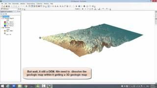 ArcScene 3D Maps