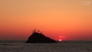 島根半島の浦側ぶらり見てある記 松江・加賀 (3-May-2014)