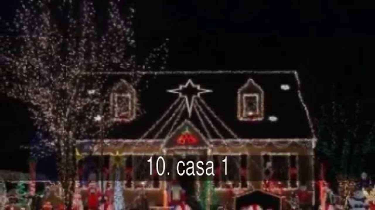 Las casas mejor decoradas para navidad youtube - Casas decoradas en navidad ...