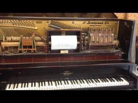 1913 Autopiano Player Piano QRS Beer Barrel Polka