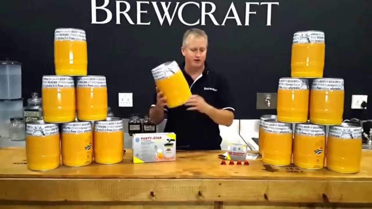 Brewcraft 5lt Mini Kegs Amp Accessories Youtube