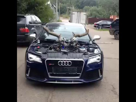 Build An Audi >> Audi RS7 Twin Turbo Stage 10 !! AMAZING AND INSANE - YouTube