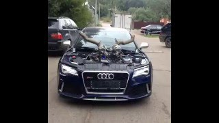 Audi RS7 Twin Turbo Stage 10 !! AMAZING AND INSANE