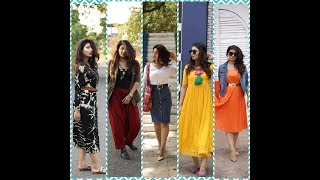 Indo - Western College Look Book