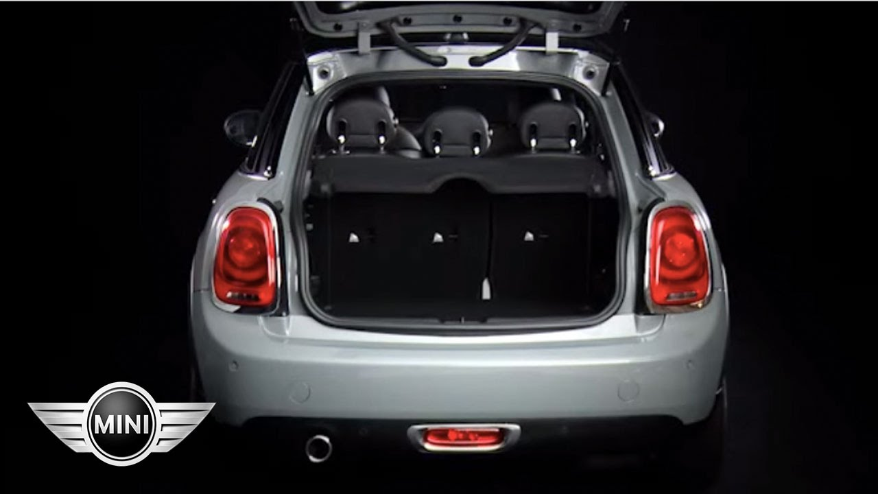 MINI USA | MINI Hardtop 4 Door | Boot - YouTube
