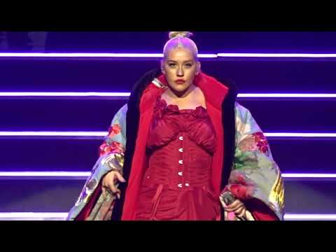 Christina Aguilera - Genie In A Bottle - Liberation Tour - Radio City Music Hall NY