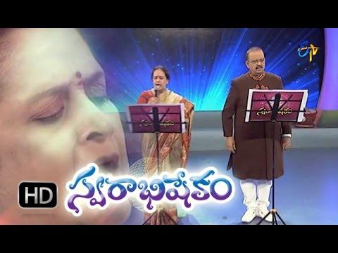 Vidhata Talapuna Song - SPbrahmanyam in ETV Swarabhishekam 25th Oct 2015