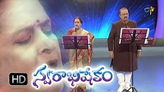 Vidhata Talapuna Song - SP.Balasubrahmanyam in ETV Swarabhishekam 25th Oct 2015