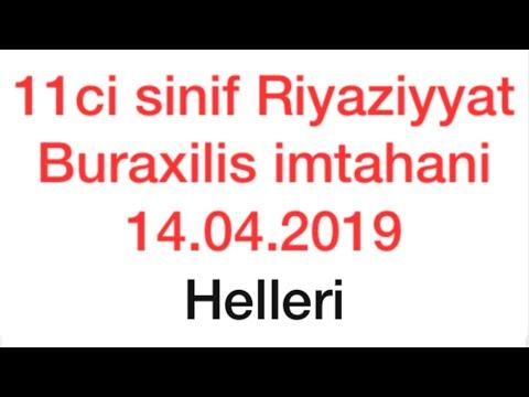 10.06.2020 tarixli  9-cu sinif  Buraxılış İmtahanında iştirak etmiş bütün suallar(Vüsət Əzizov)