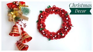 Diy Christmas Decor | Christmas Wreath |wall Decor
