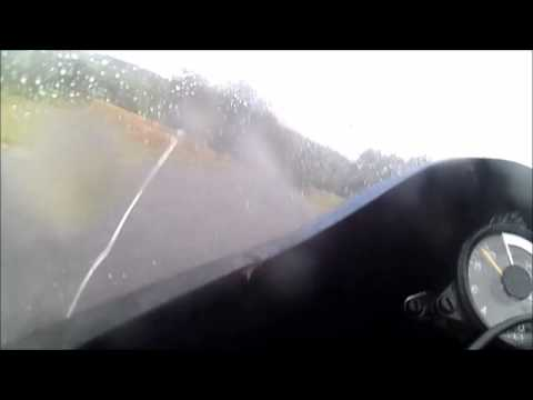 Classic TT gedinne 2015. wet race + crash
