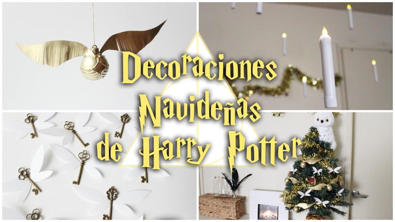 Decoraciones navide as de harry potter velas flotantes for Harry potter cuartos decoracion