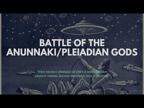 Battle of the Anunnaki/Pleiadian gods !!!