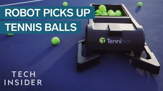 Robot Is Like A Roomba For Tennis Balls