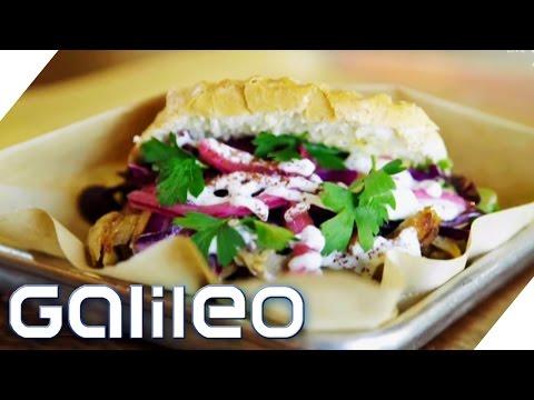 Deutsche Döner - das gesunde Fast Food der USA   Galileo   ProSieben