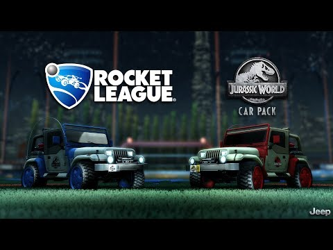 Rocket League® - Jurassic World™ Car Pack Trailer